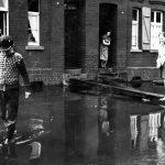 Hochwasserrückhaltebecken sorgt bei Starkregen in Holzwickede für trockene Füße