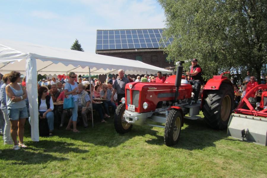 Auch Traktor-Pulling ist wieder beim Haarstrangfest zu sehen.