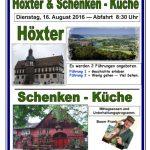 """Trägerverein """"Seniorentreff"""" lädt zum Jahresausflug nach Höxter ein"""