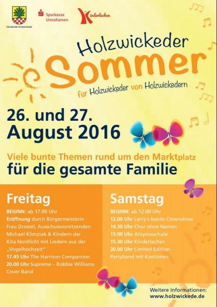 Holzwickeder Sommer Programm