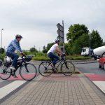 """Serie """"Sicher Radfahren"""":  Kreisverkehre für Radfahrer tückisch"""