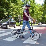 """Serie """"Sicher Radfahren"""":  Auch Radler müssen Zebrasteifen beachten"""