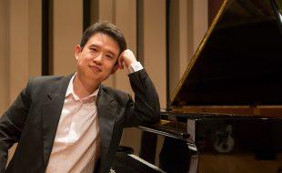 Gastiert  im Spiegelsaal von Haus Opherdicke: der Pianist Lei Weng (Foto: Thürmer)