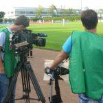 TV Live-Übertragung aus dem Montanhydraulik-Stadion