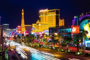 Las Vegas übt auf viele Menschen eine unglaubliche Faszination aus. Allein die bunten Lichter bei Nacjht...