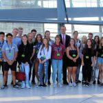 10. Klasse der Hellweg Realschule trifft ihren Bundestagsabgeordneten