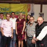Grillfest der FDP gut besucht