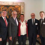 Französischer Botschafter empfängt Vertreter des Holzwickeder Freundeskreises