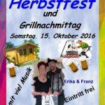 Herbstfest des Trägervereins Seniorentreff