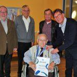Früherer HSV/HSC-Kassierer Herbert Paschedag vollendet sein 90. Lebensjahr