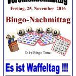 Bingo-Nachmittag in der Senioren-Begegnungsstätte