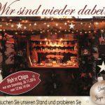 DBC bietet Fish 'n' Chips auf Weihnachtsmarkt an