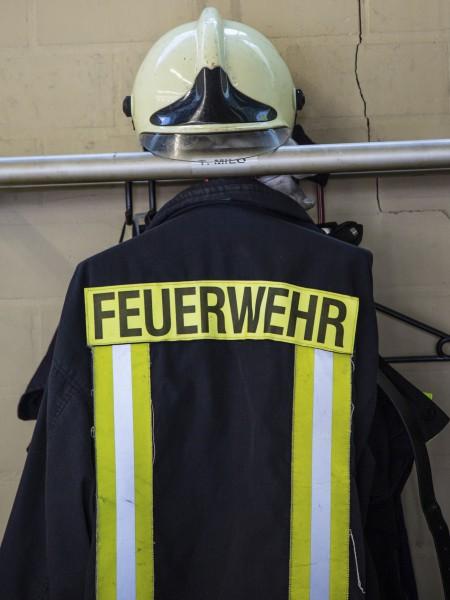 Die CDU will die Feuerwache-Mitte erweitern und dafür die Notunterkunft Bahnhofstraße 25 abreißen. (Foto: P. Gräber)