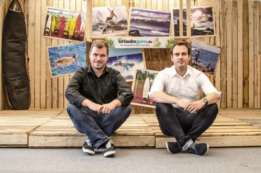 Werden zu jüngsten Bürgern des Rhrgebietes ernannt: Daiel Marx und Daniel Krahn (Foto: UNIQ)