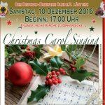 Deutsch-Britischer Club lädt zu Christmas Carol Singing ein