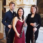 Kammermusik auf Haus Opherdicke mit dem Klarinettentrio Schmuck
