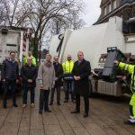 Gelungene Umstellung bei Müllabfuhr: Guter Service, weniger Kosten für die Bürger