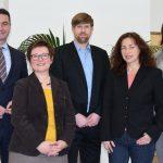 Ausstellungsteam wieder komplett: Arne Reimann im Kreis-Kulturausschuss begrüßt