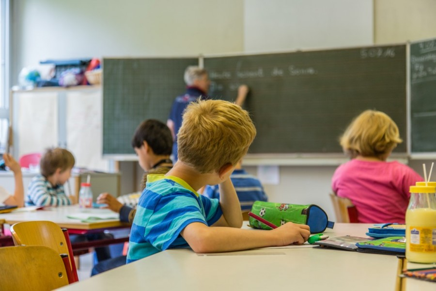 Im kommenden Schuljahr 2018/2019 werden in den vier Grundschulen der Gemeinde insgesamt acht neue Eingangsklassen gebildet, teilte die Verwaltung heute im Schulausschuss mit. (Foto: P. Gräber - Emscherblog.de)