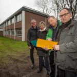 Neues Dach für Dudenrothschule: innogy unterstützt Gemeinde beim Klimaschutz