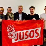 SPD-Landtagsabgeordneter Hartmut Ganzke besucht Holzwickeder Jusos