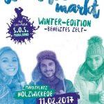 1. Streetfoodmarkt Winter-Edition lockt mit besonderer Atmosphäre und beheiztem Zelt