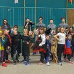 Judo Kids des JCH feiern Karneval