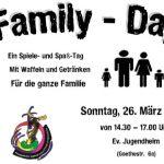 Ev. Jugend lädt wieder zum Family-Day ein