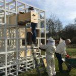 Am Emscherquellhof summt es wieder: Bienen kehren aus Winterquartier zurück