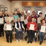Trägerverein feiert mit langjährigen Mitgliedern