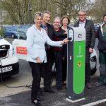 innogy eröffnet erste öffentliche Ladesäule für Elektrofahrzeuge in Holzwickede