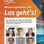 CDU Holzwickede lädt  zum Wahlkampfauftakt der Landespartei ein