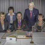 Festakt zum 30jährigen Bestehen der Partnerschaft mit Weymouth & Portland