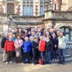 Freundeskreis-Gruppe grüßt aus der Normandie