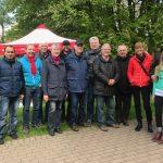 Ostereier-Suche der SPD im Park: Kinder räumen 300 Eier und 140 Schokohasen ab