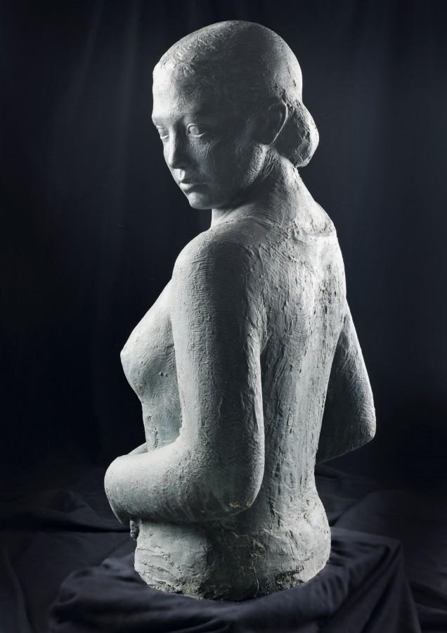 Raimondo Puccinelli, Frauenoberkörper, 1930er Jahre, Bronze. Foto: Carlo Wessel, Borken