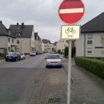 Autofahrer aufgepasst: Vinckestraße für Radverkehr in beiden Richtungen geöffnet
