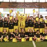 Holzwickeder Hauptschüler beim BVB zum Probetraining und Stadionsbesuch