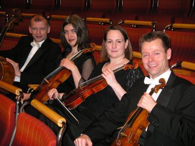 Gastieren mit Wolfram Schmitt-Leonardy auf Haus Opherdicke: das Gürzenich Quartett. (Foto © Gürzenich Quartett)