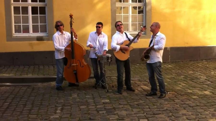 Spielen beim Streetfood-Markt in Holzwickede: die Band Kabellos. (Foto: kabellos-band.de)