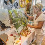 Rundum zufriedene Gesichter beim 6. Holzwickeder Malermarkt