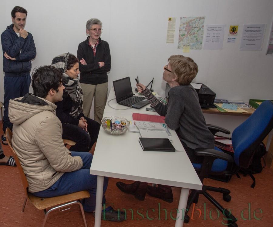 Die Zahl der anerkannten Asylbewerber in den Notunterkünften der Gemeinde steigt: Derzeit leben bereits 50 anerkannte Asylbewerber in den Unterkünften der Gemeinde. (Foto: P. Gräber - Emscherblog.de)