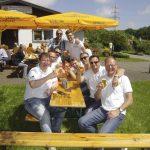 Vereinsheim Am Oelpfad am Vatertag beliebtes Ausflugsziel
