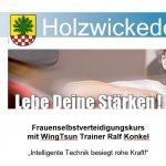 Frauenselbstverteidigungskurs mit WingTsun-Trainer Ralf Konkel