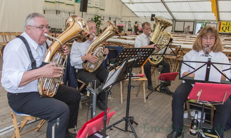 Die Bürgerschützen und der Trägerverein Senioren-Begegnungsstättev laden am Freritag (30. Juni)m zum Seniorennachmittag ins Festzelt ein.  (Foto: P. Gräber - Emscherblog)
