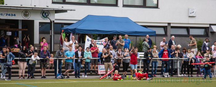 Die vier Mannschaften wurden von ihren Fans lautstark unterstützt. (Foto: P. Gräber - Emscherblog.de)