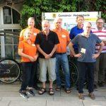 Auch Bürgerblock-Team beim Stadtradeln aktiv