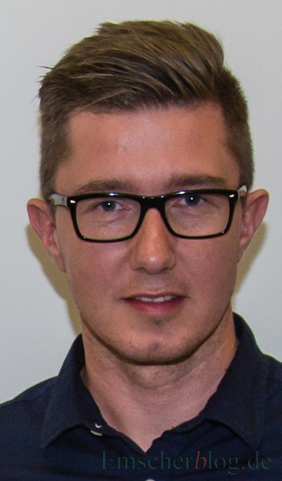 1. Vorsitzender des HSC: Sebastian Benett. (Foto: P. Gräber - Emscherblog.de)