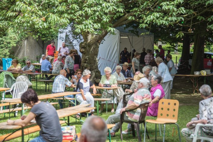 Die ev. Kirchengemeinde feierte an diesem Wochenende ihr zweitägiges Gemeindefest: Beide Veranstaltungstage waren sehr gut besucht. (Foto: P. Gräber - Emscherblog.de)
