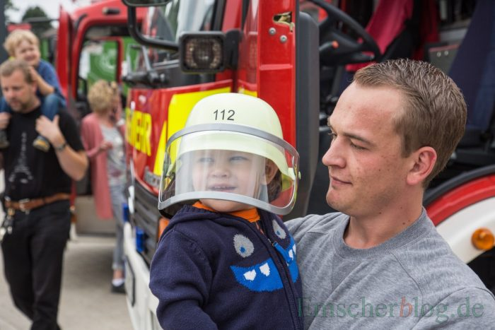 Früh übt sich, was ein richtiger Feuerwehrmann werden will (Foto: P. Gräber - Emscherblog.de)